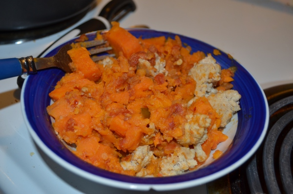 easy sweet potato stew