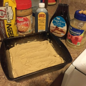 chickpea blondie ingredients